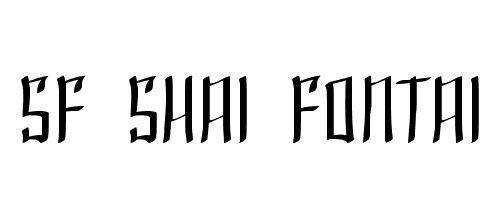 тонкий шрифт