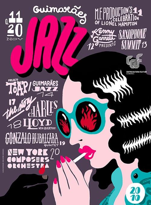 Джазовый постер
