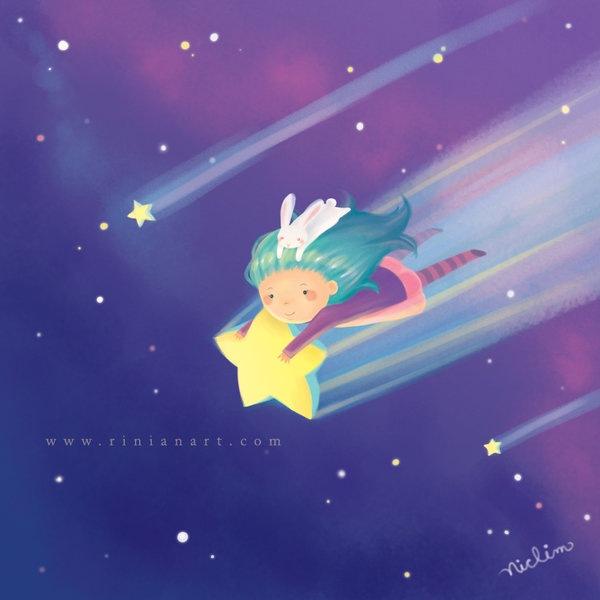 полет на звездах