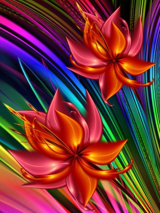 Ориентальные тюльпаны