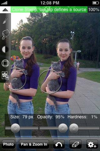 iPhone редактор фотографий