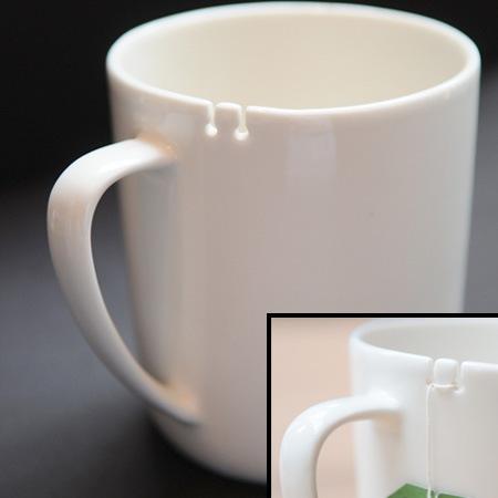 Чашка с прорезями