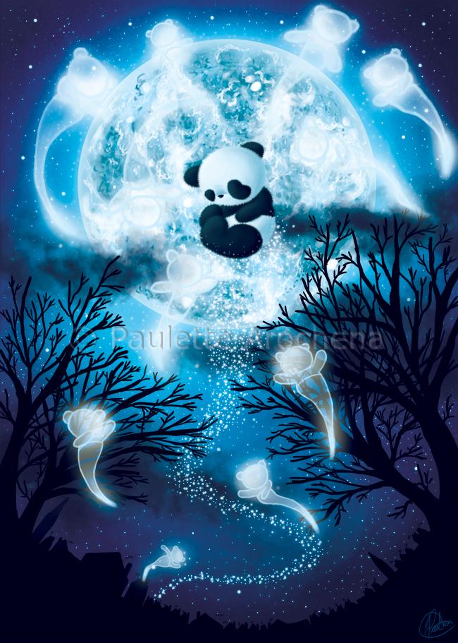 лунная панда