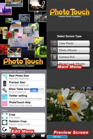 Редактор фото для iPhone
