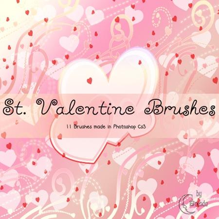 11 кистей к дню Св. Валентина