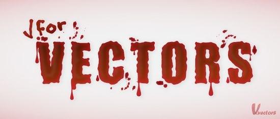 простой кровавый эффект