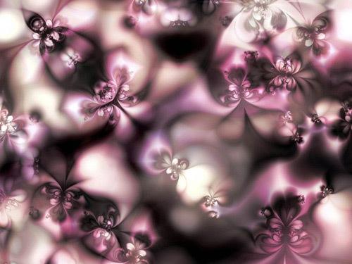 Весенний цветочный фрактал