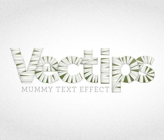 30 туториалов текстовых эффектов для