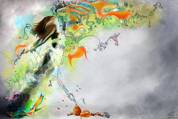 абстрактная иллюстрация