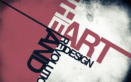 потеки в типографическом дизайне