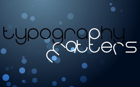блеск и типографика