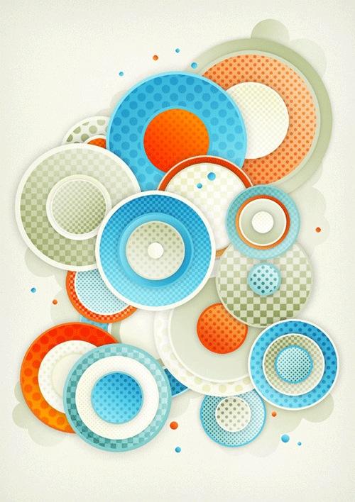 Абстрактные круги