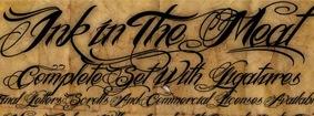 каллиграфические-шрифты