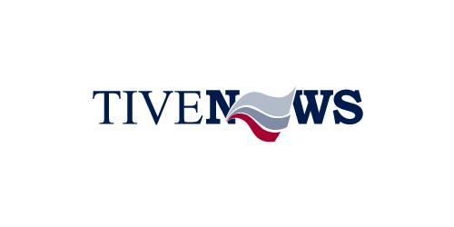 Логотип с крупными типографическими шрифтами