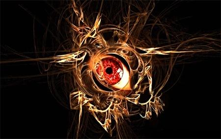 Глаз в фрактале
