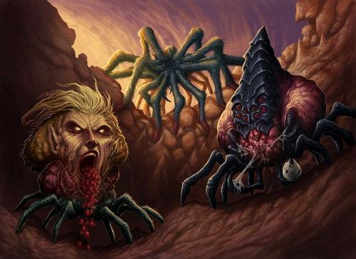 паукообразные монстры