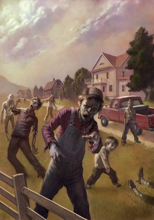 город зомби