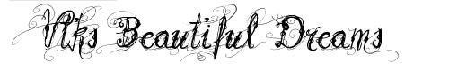 Шрифт с узорами