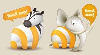 RSS иконки животных