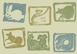 Штампы животных