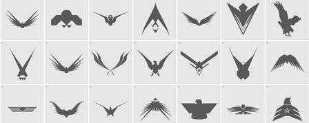 Векторные формы орлов
