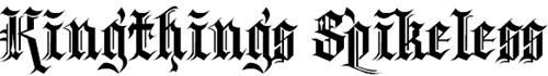 Угловатый шрифт
