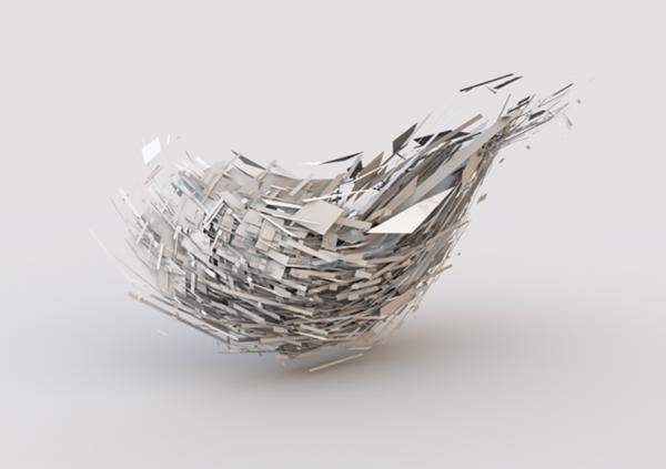 Абстрактная 3D фигура