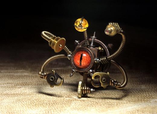 Механический робот-наблюдатель