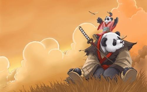 Панда-воин