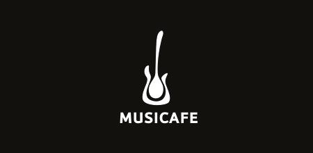 гитара на лого