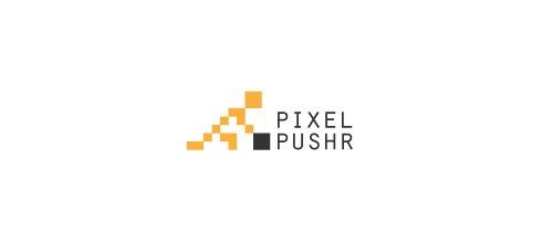 человечек из пикселей