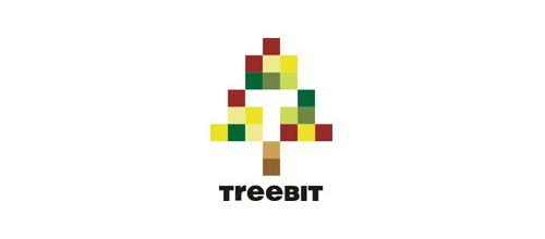 пиксельное дерево