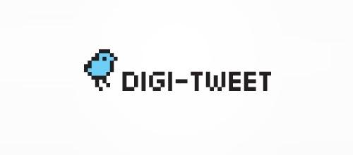 пиксельная птичка