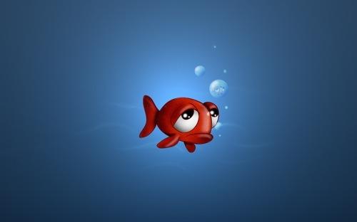 Печальная рыбка