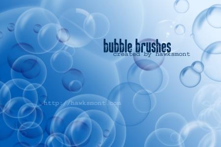 9 кистей пузырей