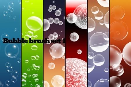 набор кистей-пузырей