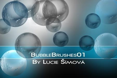 пузыри различных размеров