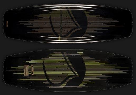 темный дизайн вейкборда