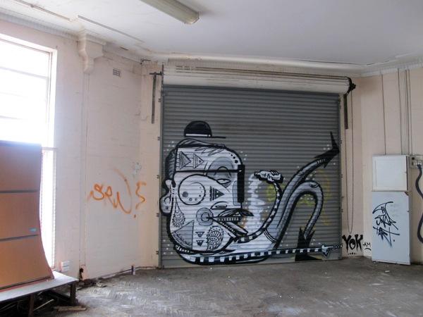 эпическое граффити