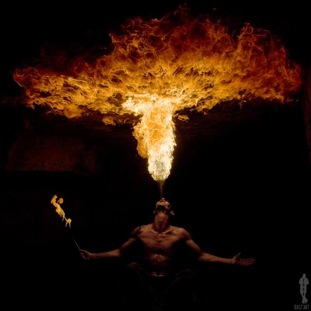 горящее небо