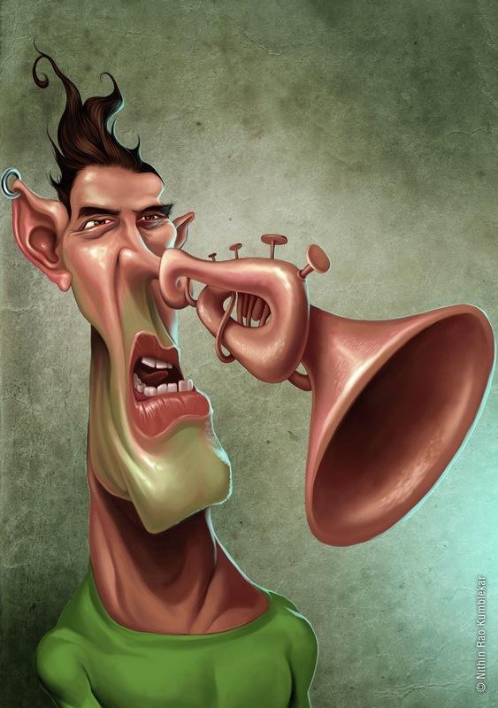 нос трубой