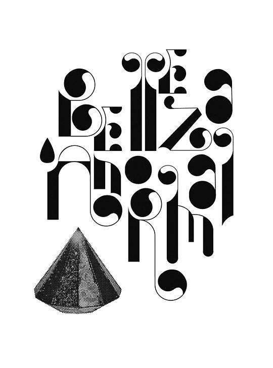 Креативная узорная типографика