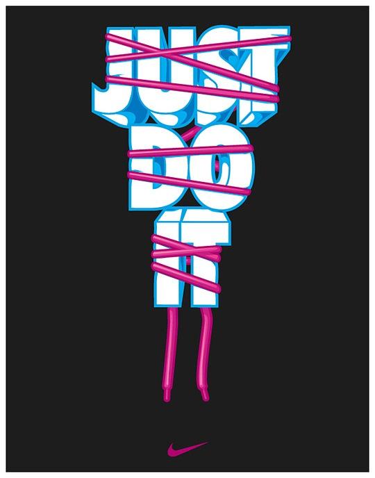 Рекламный постер Nike