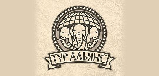 Лого для туристической компании