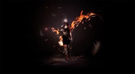 Создайте потрясающую мистическую темную сцену