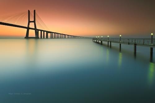 Утренний мост