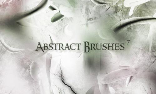 7 абстрактных кистей