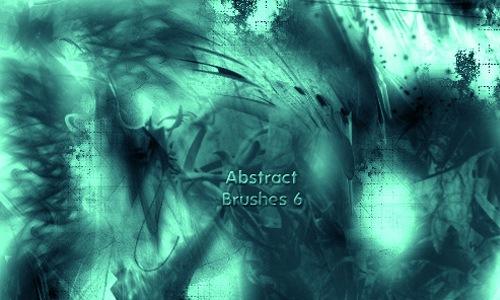 6 абстрактных кистей