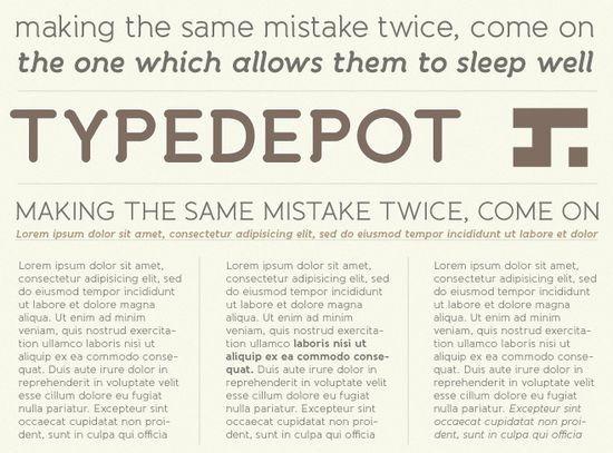 Типографический шрифт