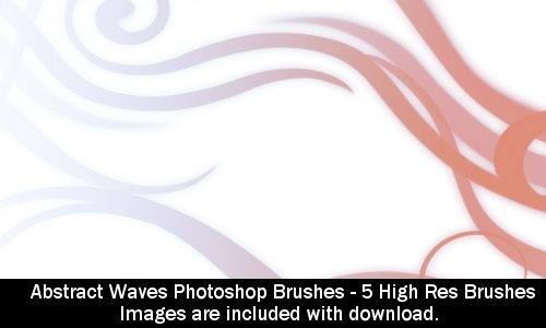 5 абстрактных кистей для Фотошопа